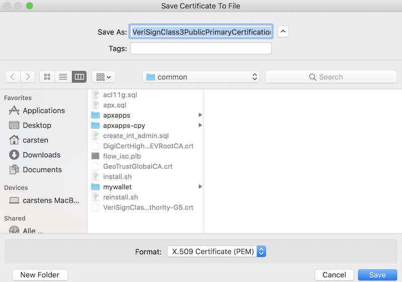 Application Express And Https Never See Certificate Validation